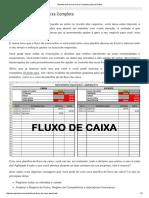 Planilha de Fluxo de Caixa Completa - Excel Prático