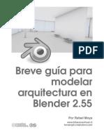Guía para Modelar arquitectura en Blender 2.55