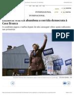 Elizabeth Warren abandona a corrida democrata à Casa Branca | Internacional | EL PAÍS Brasil