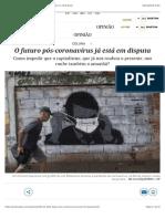 O futuro pós-coronavírus já está em disputa | Opinião | EL PAÍS Brasil