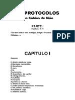 Os Protocolos Dos Sabios de Siao - Gustavo Barroso Diagramado