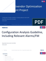 Configuration Analysis Guideline, Including Relevant AlarmsFM