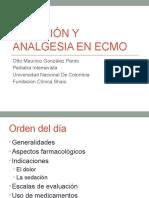 Sedación y analgesia en ECMO