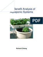 Cost Benefit Analysis of Aquaponic Systems - Richard Chiang