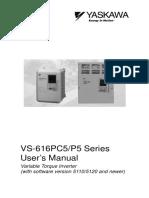 Manual English (YEA-TOA-S616-12B)