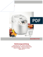 Unold 68110 Backmeister Bread Maker