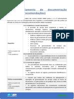 4.3 Gerenciamento de documentação