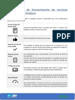 6. Processos de fornecimento de serviços