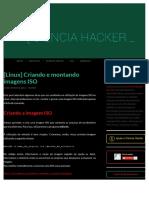 [Linux] Criando e montando imagens ISO