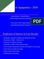 The Status of Aquaponics