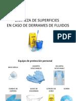 LIMPIEZA DE SUPERFICIES CON FLUIDOS