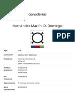 Hernández Martín, D. Domingo – Unión de Criadores de Toros de Lidia