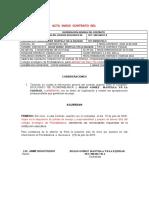 ACTAS  DE INICIO DEFINITIVAS  2018