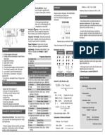 Manual - RGB10-CR para refletores de Piscina - Marca Unisan