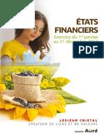 Etats Financiers sociaux et consolidés au 31-12-2017