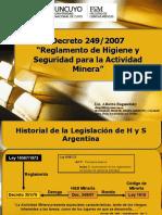 1 - Presentacion Decreto 249-07.