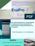 EvaPro Presentación