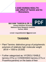 Tannin & Health