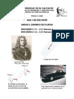 GUÍA 2 DE DISCUSIÓN 2020 (D3, D4). DINÁMICA DE FLUIDOS.pdf