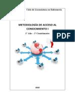 Metodología del acceso al conocimiento
