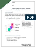Evaluacion segundo semestre Escuela Ribera de Ñuble 2018