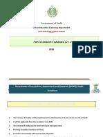 Scheme of Studies (Elementary) 2020 - Draft ~ Mushtaq.docx