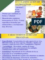 Proteinas, trabajo de bromatologia