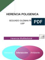 HERENCIA POLIGENICA