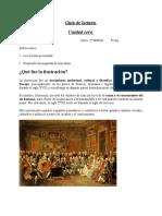 Guía de lectura Historia 1 medio