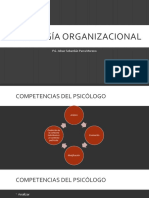 Psicología organizacional rol psicologo