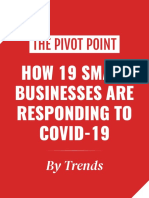 How 19 Small Businesses Are Responding to Covid-19