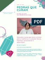 MATERIAL DE APOIO -PEDRAS QUE CURAM