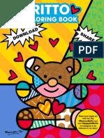 Britto Coloring Book 2020