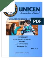 PARÁLISIS CEREBRAL INFANTIL