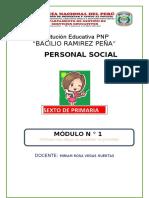 Modulo Personal Social