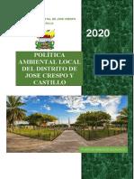 plan ambiental local