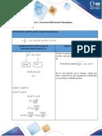Ejercicio 1 Ecuaciones Diferenciales Homogéneas _