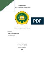 ARSITEKTUR PERILAKU-LIDYA F. MORUC-1706090025