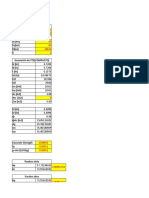 Diseño PTE rectangular compuesto