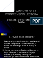 MODELAMIENTO DE LA COMPRENSION LECTORA1