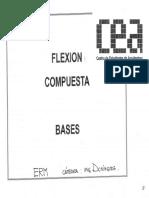 Flexión compuesta Bases
