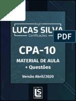Apostila CPA 10 - Professor Lucas Silva