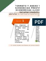 Acreencias prestaciones económicas (licencias e incapacidades)