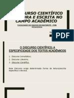 O DISCURSO CIENTÍFICO - LEITURA E ESCRITA NO CAMPO ACADÊMICO.pdf