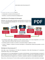 Governança de TI - Notas de aula Introdução