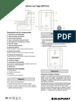 Manual Usuario Blaupunkt KPT-S1