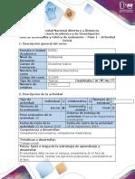 Guía de actividades y rúbrica de evaluación - Paso 1 - Actividad de Presaberes (1)