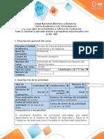 Guía de Actividades y Rúbrica de Evaluación – Fase 5 – Diseñar y ejecutar planes y programas relacionados con el SG-SST