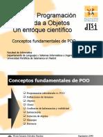 Conceptos Fundamentales de Programación Orientada a Objetos