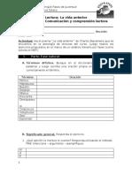 Guía de trabajo. Español 11.